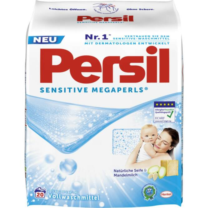 Persil megaperls sensitive