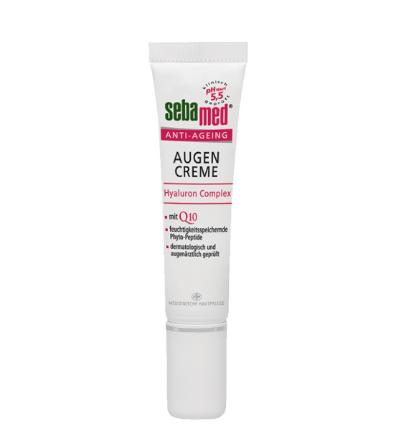 sebamed Anti-Ageing Eye Cream - ECARF Siegel